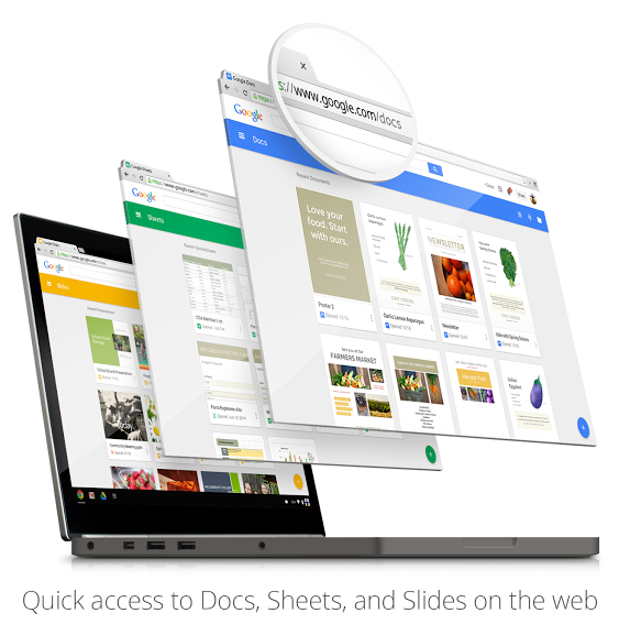 Google Brings 'Material Design' Inspired Interface to Specific App Suites, along with new Enhancements