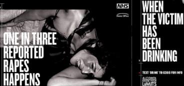 NHS rape poster
