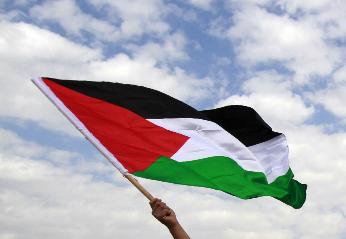 """Palestine flag """"ripped down"""" from Tower Hamlets office, not removed by officials"""""""
