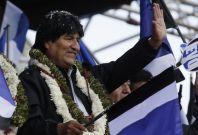 Evo Morales Bolivia Israel