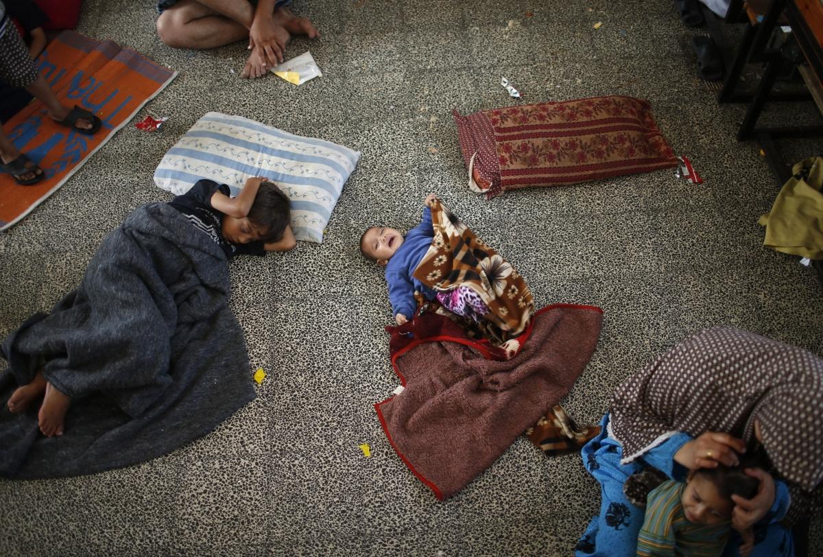 GAZA.REFUGEES