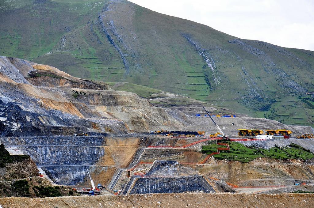 Las Bambas copper mine in Peru
