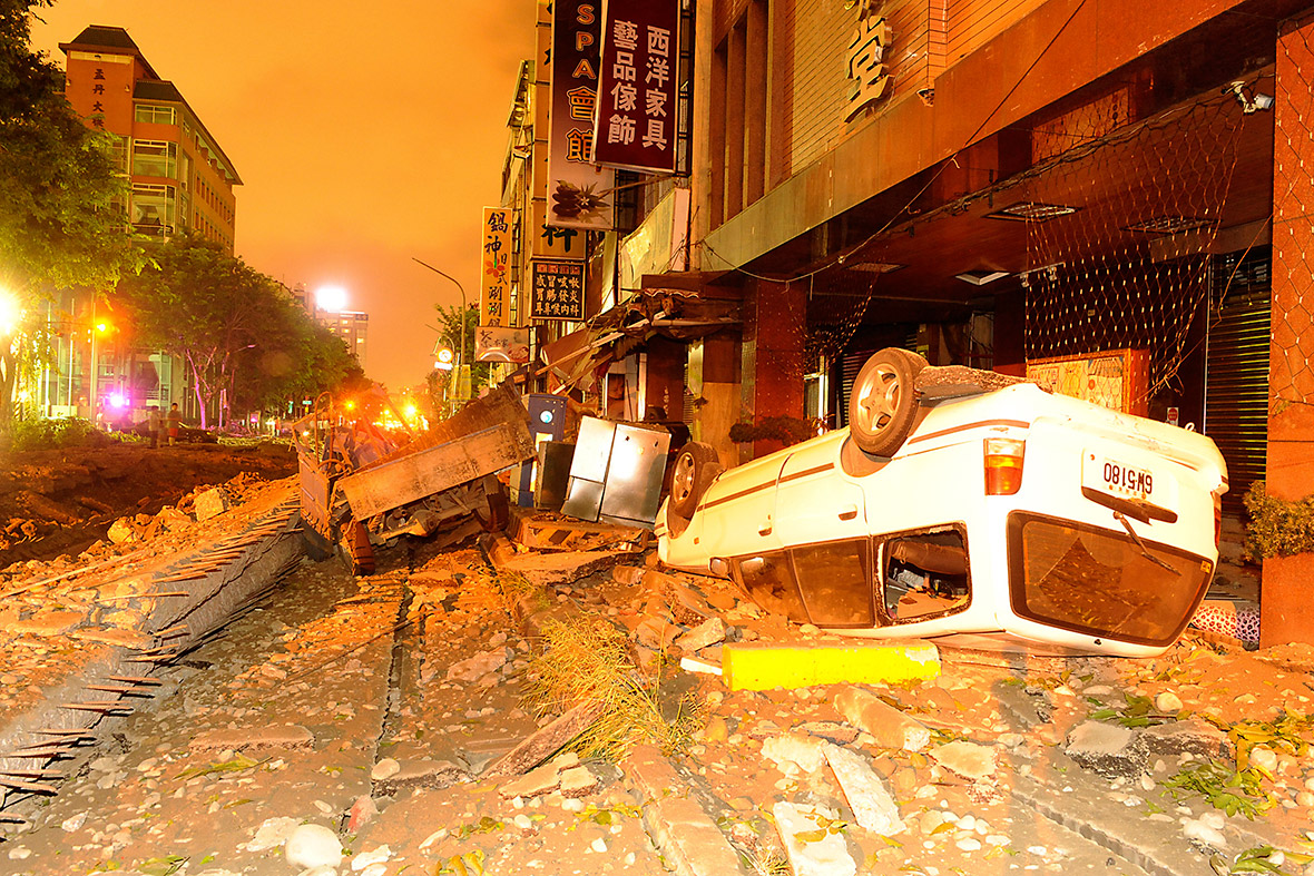 taiwan gas explosion