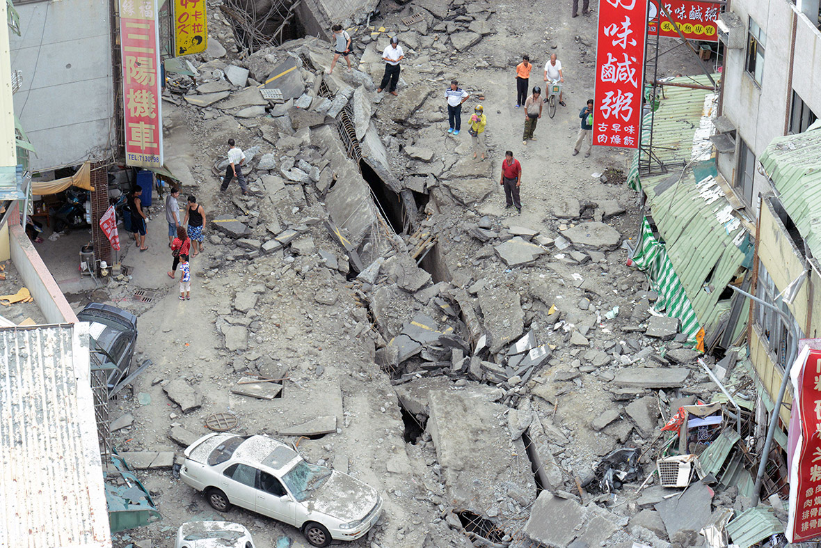 taiwan gas explosion