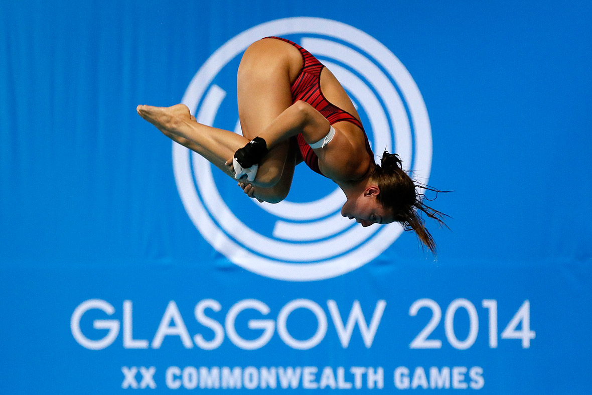 commonwealth games diving