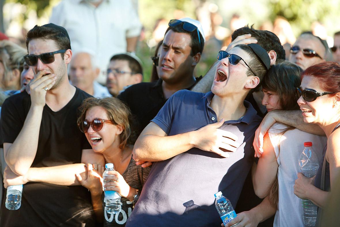 gaza israeli funeral