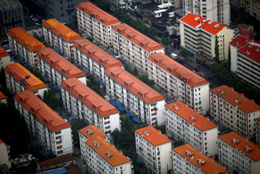 Apartment Buildings Shanghai China