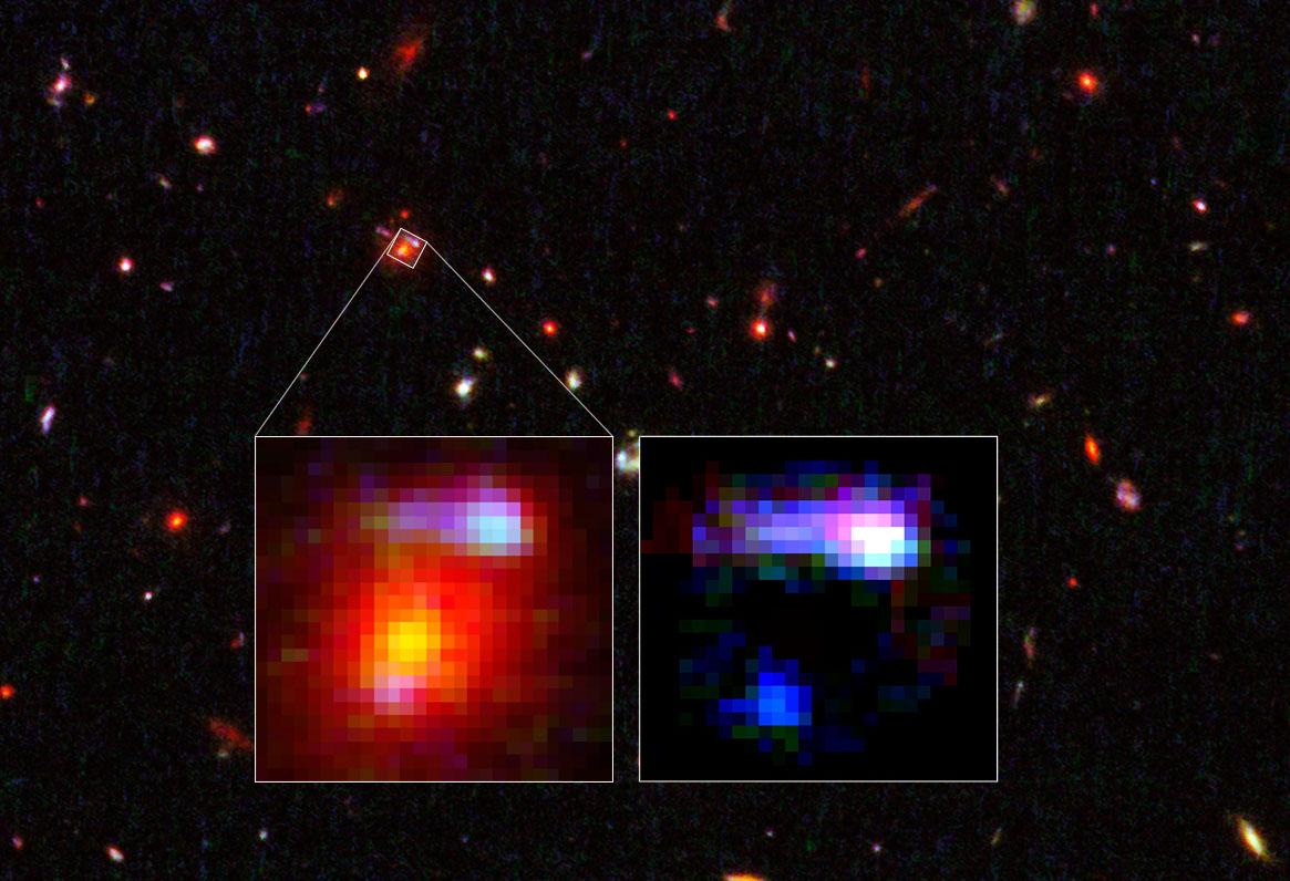 lensing galaxy