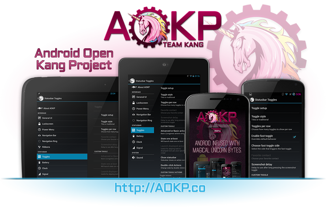 AOKP Android 4.4.4 Nightly ROM Arrives for Sony Xperia Z2 and OnePlus One