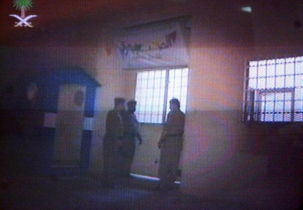 Frame grab os Saudi prison