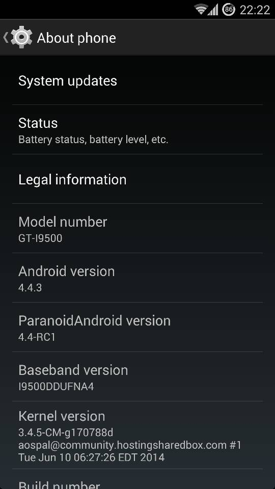 ParanoidAndroid Final ROM Brings Android 4.4.4 KitKat for Galaxy S4 I9500/I9505