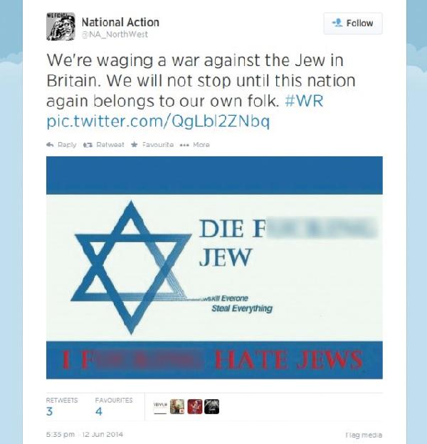 anti-semitic trolling online