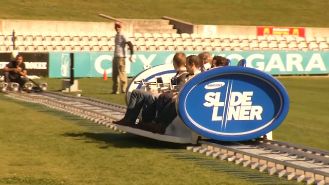 Australian Rugby Fans go Mobile with Moving Pitch-Side Seats
