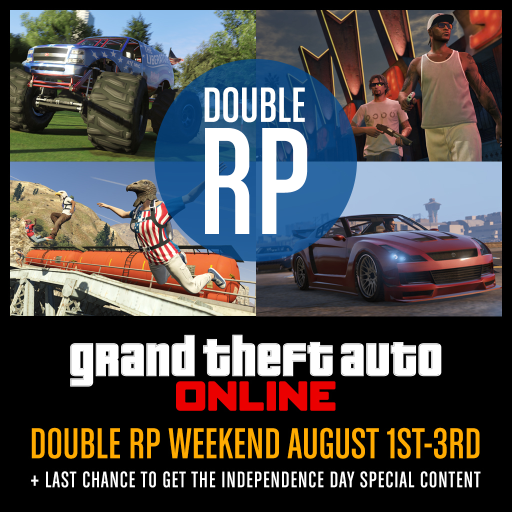 GTA 5 DLC and Double RP: Patch 1.16 Possible Release Date