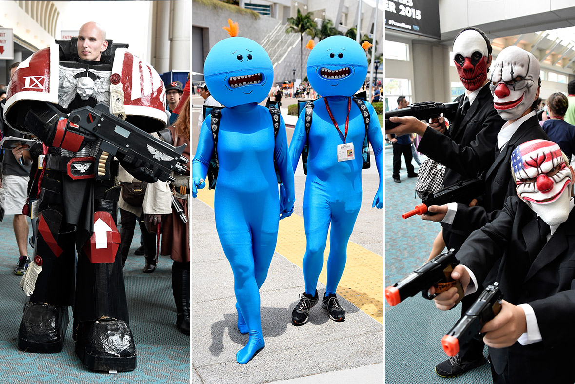 comic-con 2014 costumes