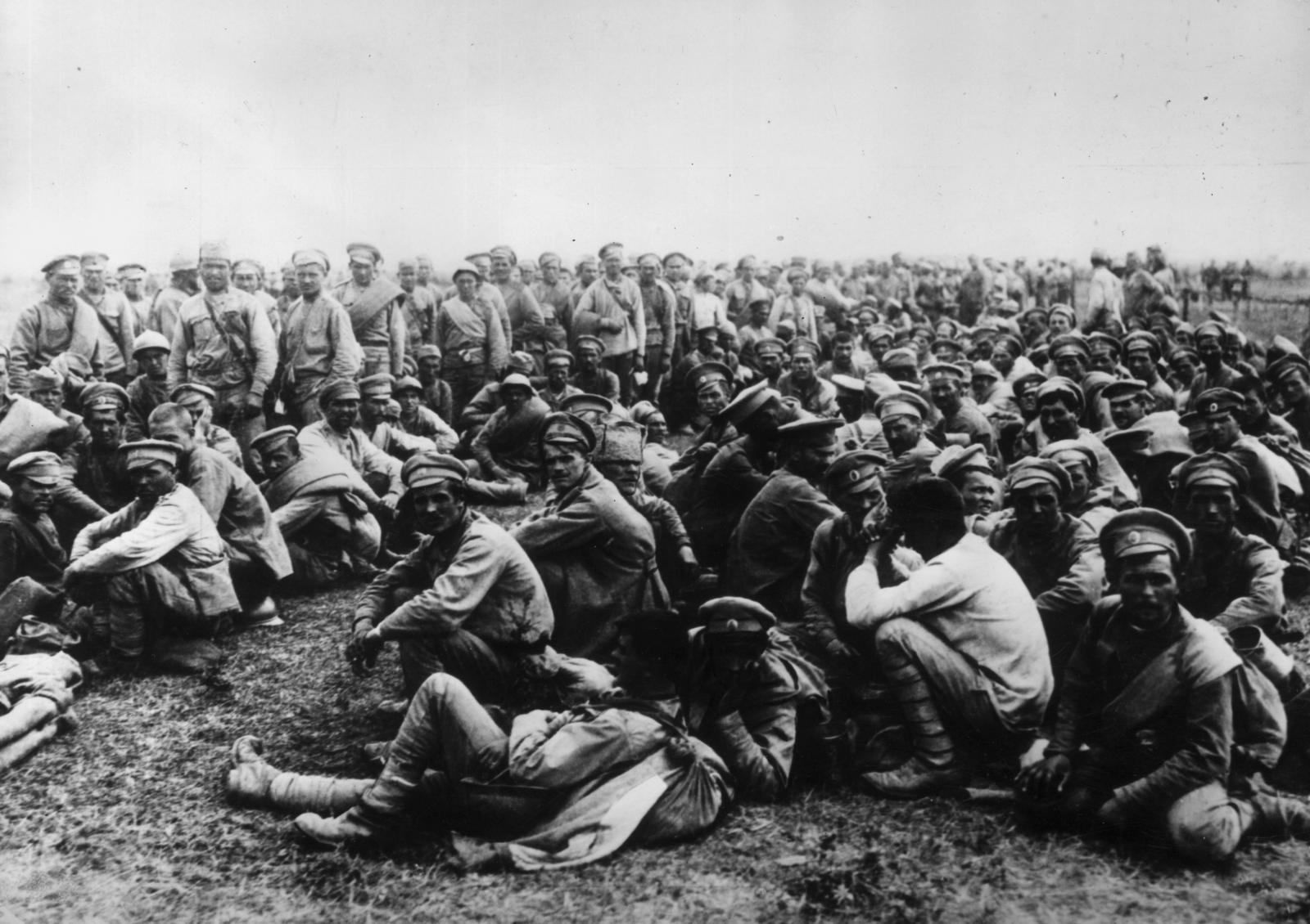 WW1 POWs