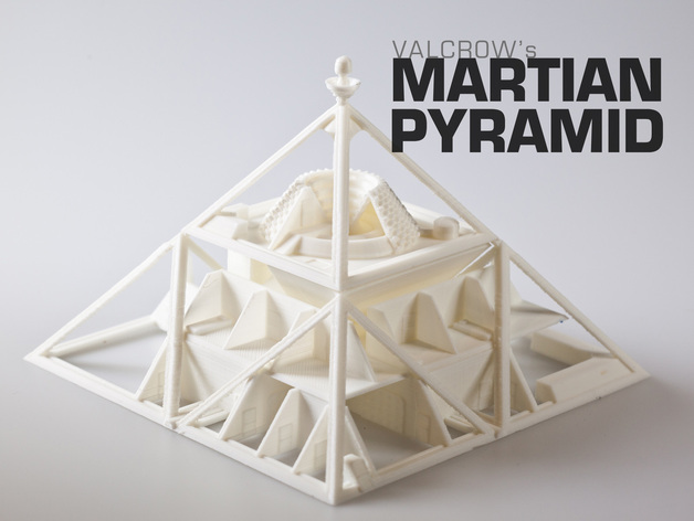 3D-printed Martian base 5