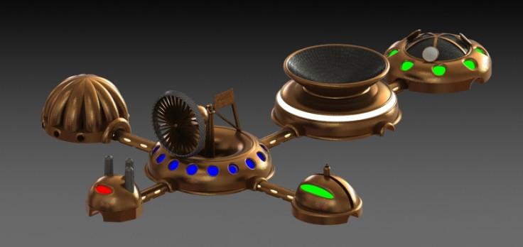 3D-printed Martian base 6