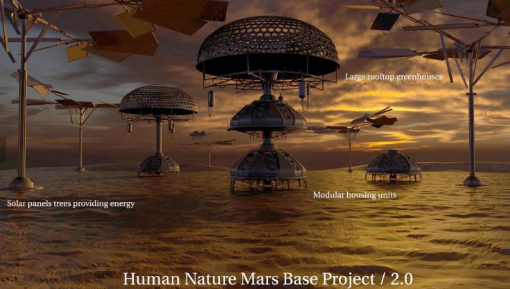 3D-printed Martian base 7