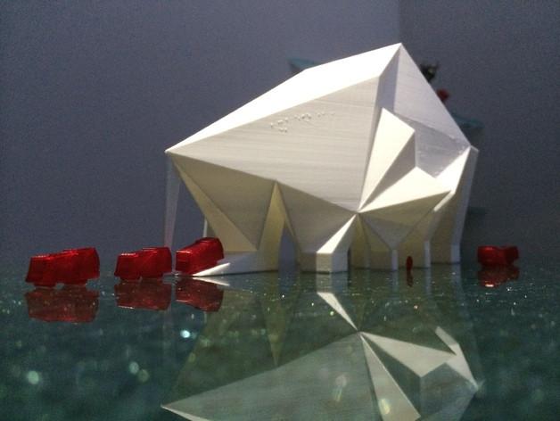 3D-printed Martian base 8