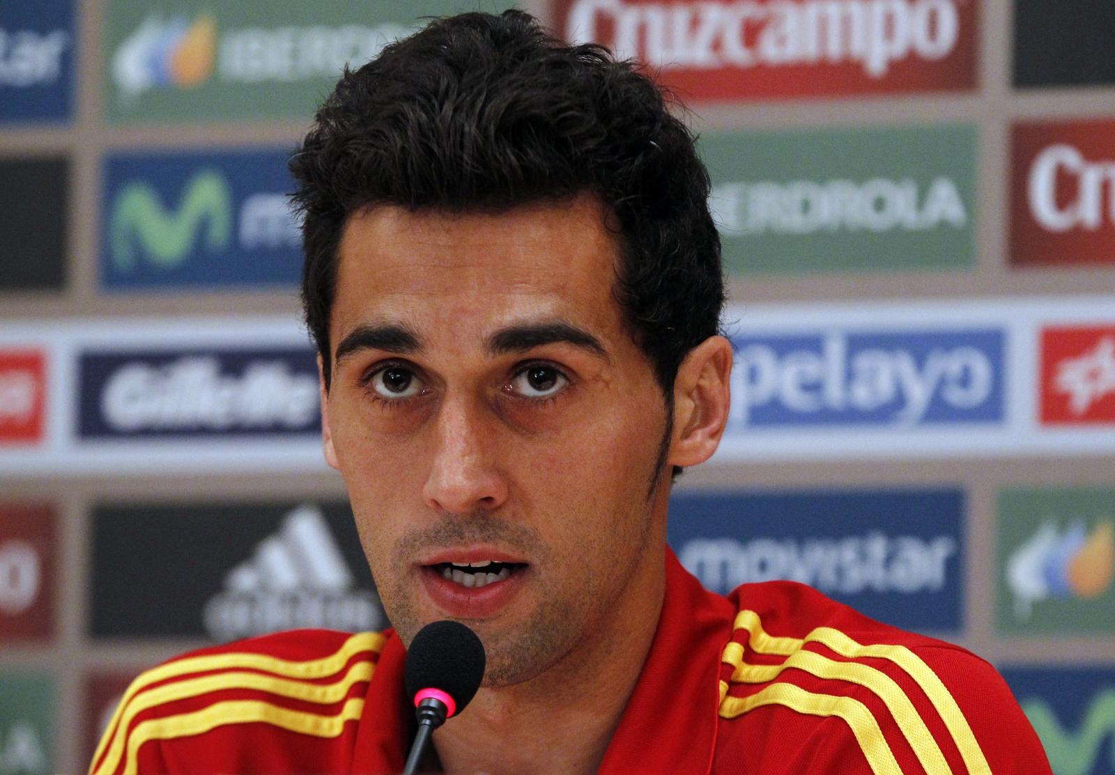Semitic looking Spanish football player Álvaro Arbeloa