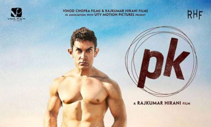 Aamir Khan's PK poster