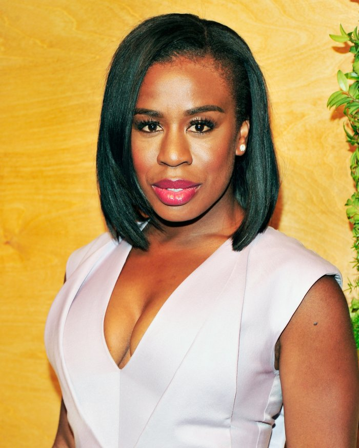 Actress Uzo Aduba who plays Crazy Eyes in Orange is the New black