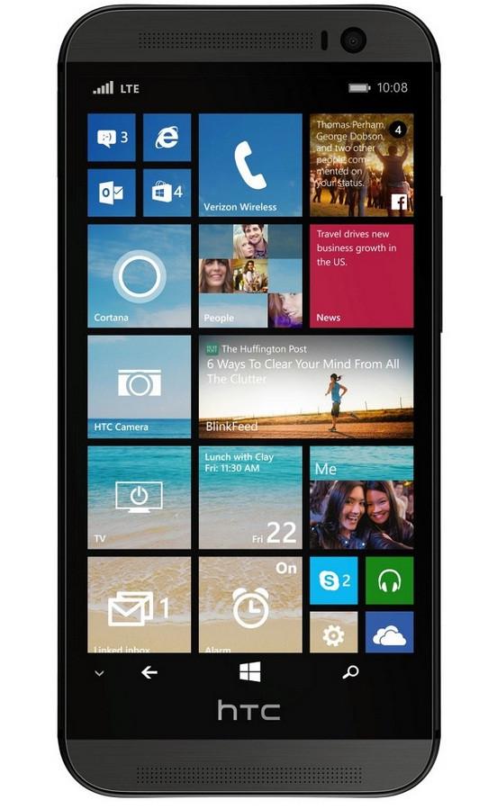 HTC One M8 running Windows Phone 8.1