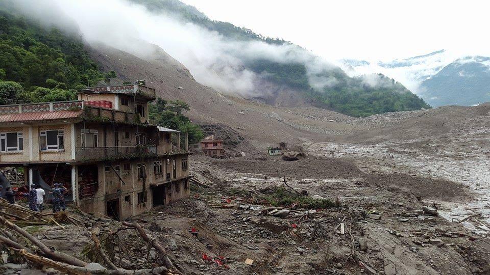 Sindhupalchowk landslide