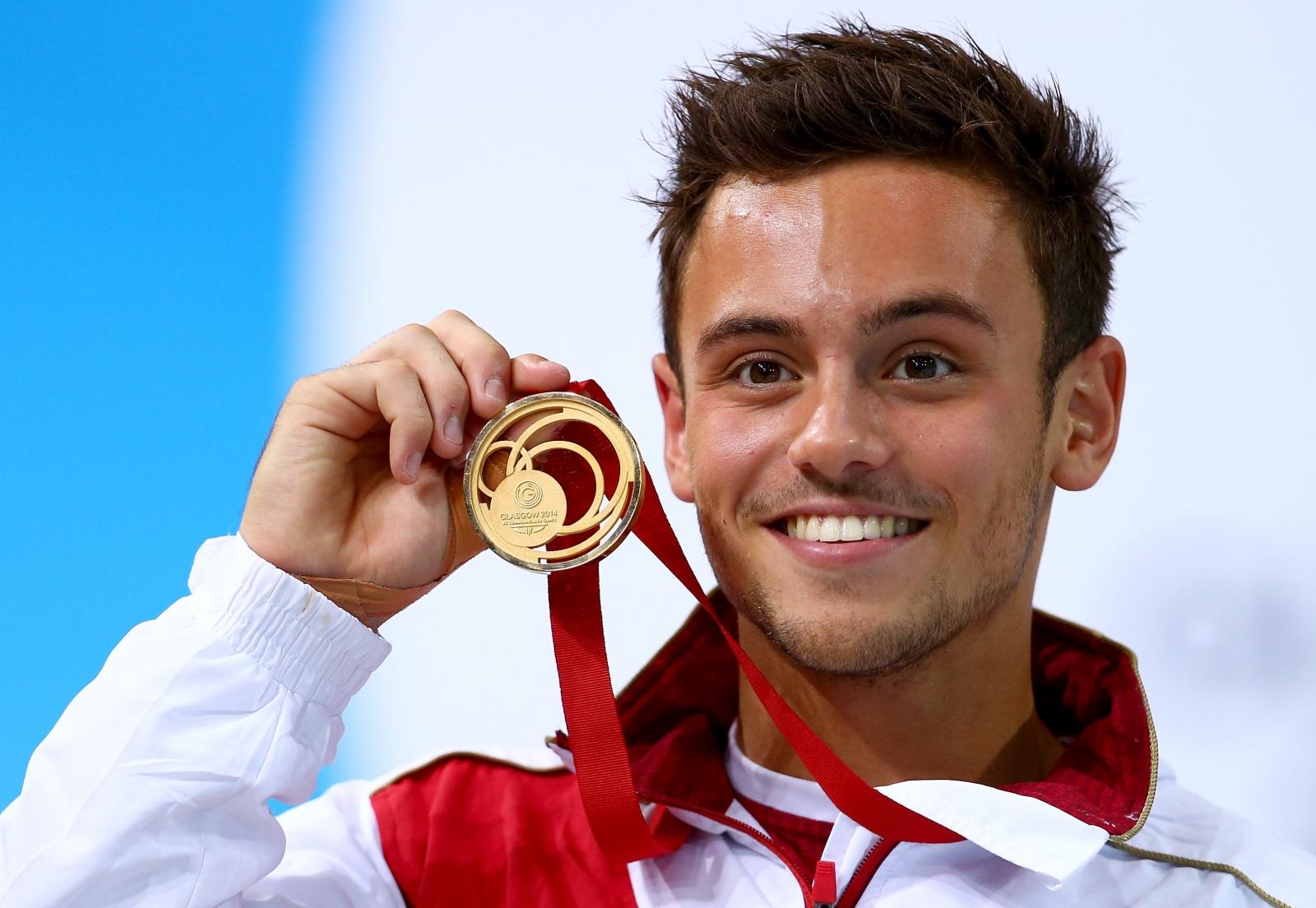 Glasgow 2014 Tom Daley Retains 10m Platform Commonwealth Gold