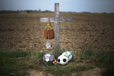 WW1 Christmas Truce Cross