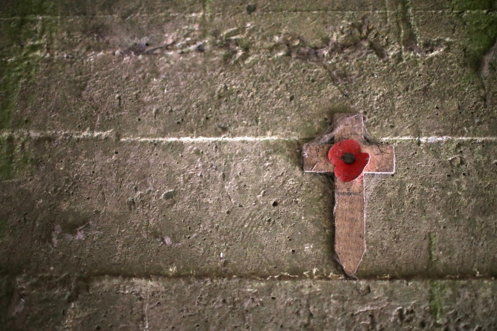 Essex Farm Cemetery Memorial Cross