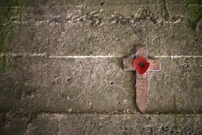 Essex Farm Cemetery Memorial Cross