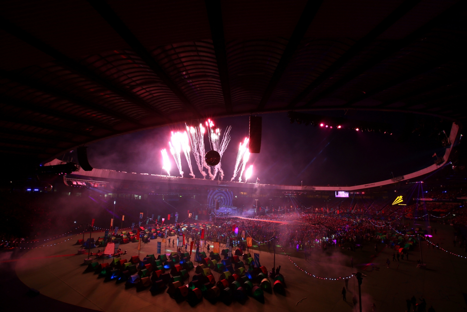 Glasgow 2014 Commonwealth Games closing ceremony