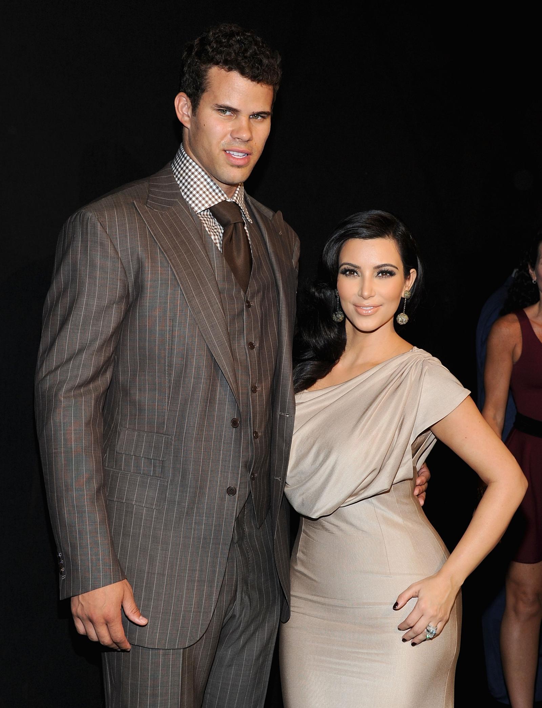 NBA player Kris Humphries and TV personality Kim Kardashian