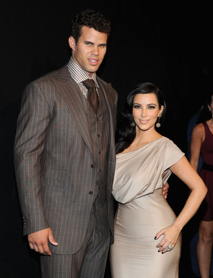 NBA player Kris Humphries and TV personality Kim Kardashian