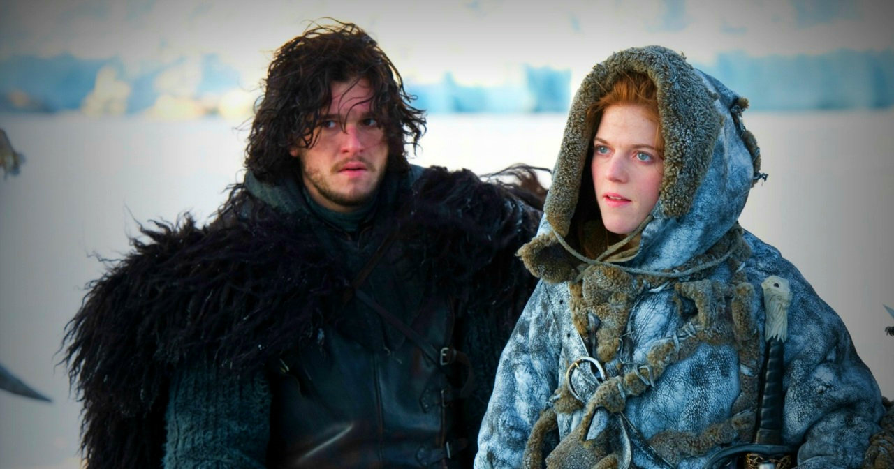 Jon Snow and Ygritte