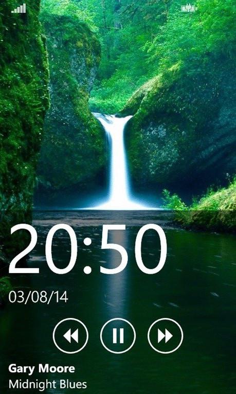 Live lock screen app