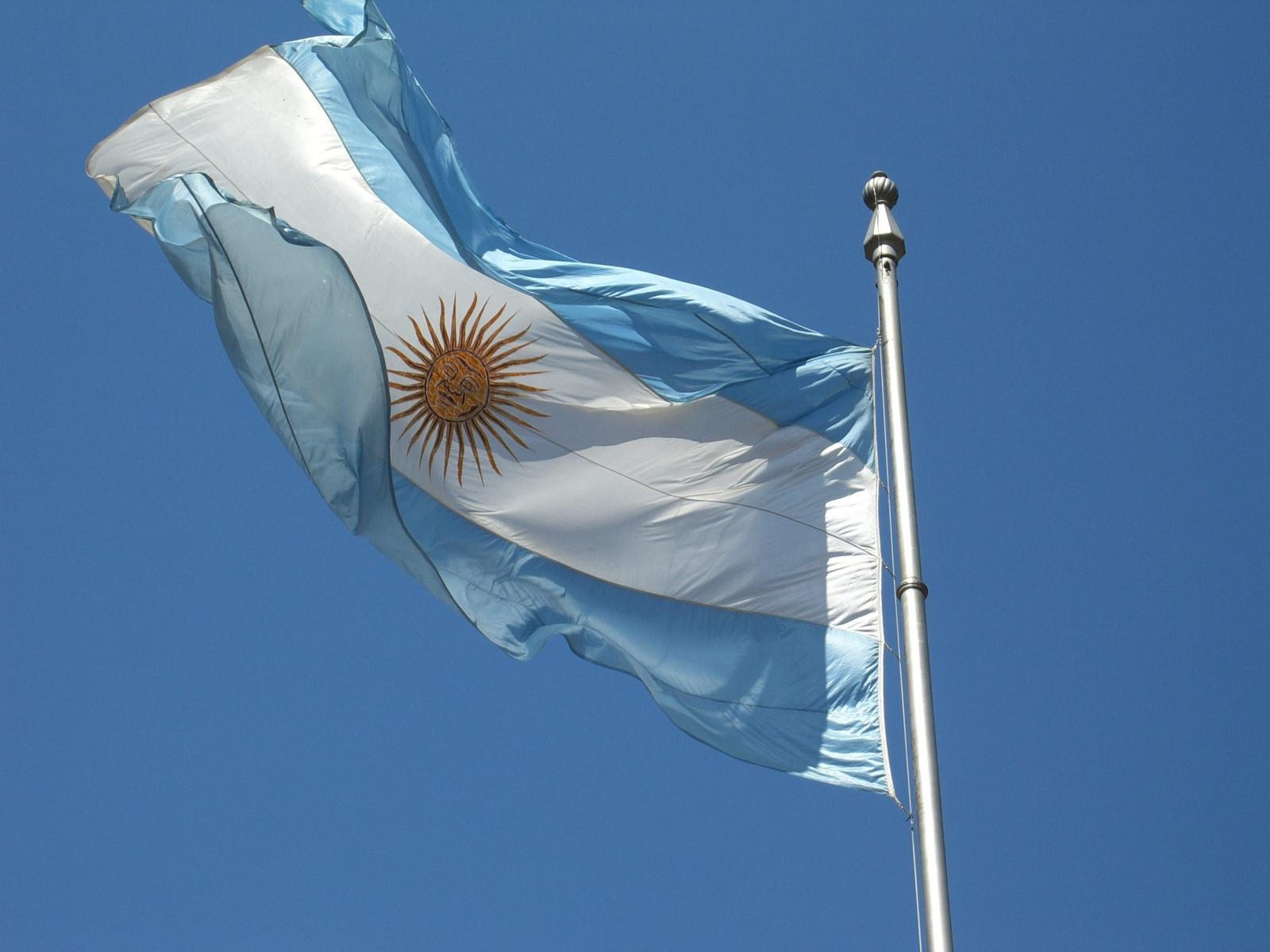 argentina bitcoin flag
