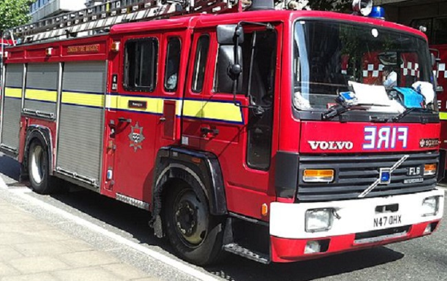 London fire engine