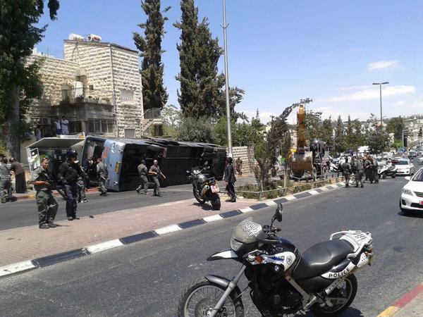 Digger Jerusalem Bus