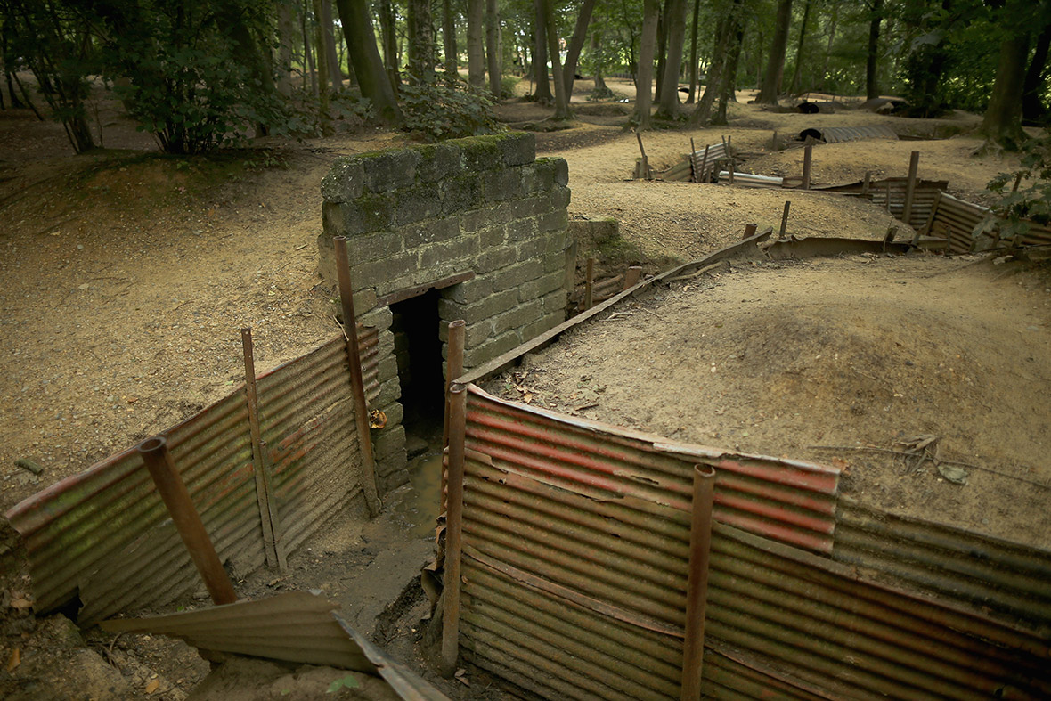 ypres trench