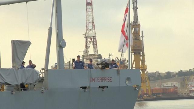 British Navy Evacuates Expats as Libya Fighting Worsens
