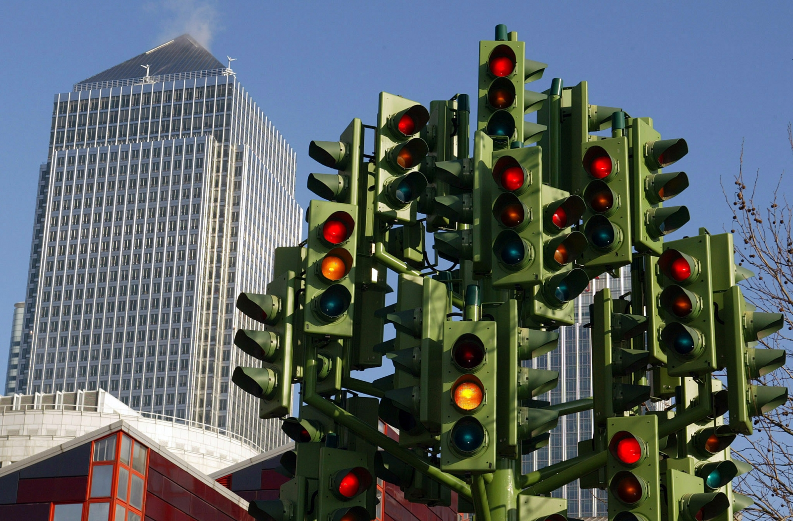 History Of Traffic Lights 100th Anniversary Of The First