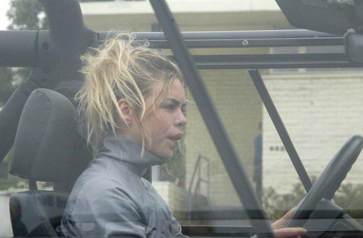 Billie Piper in car crash with teenage cyclist
