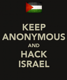 Anonymous versus Israel