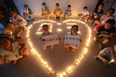 china earthquake candles