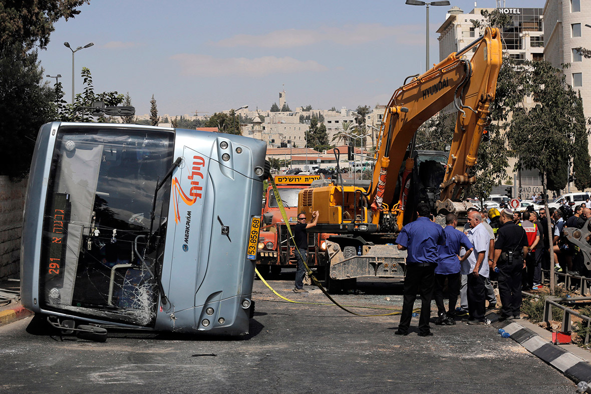israel bus attack