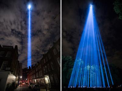 first world war lights
