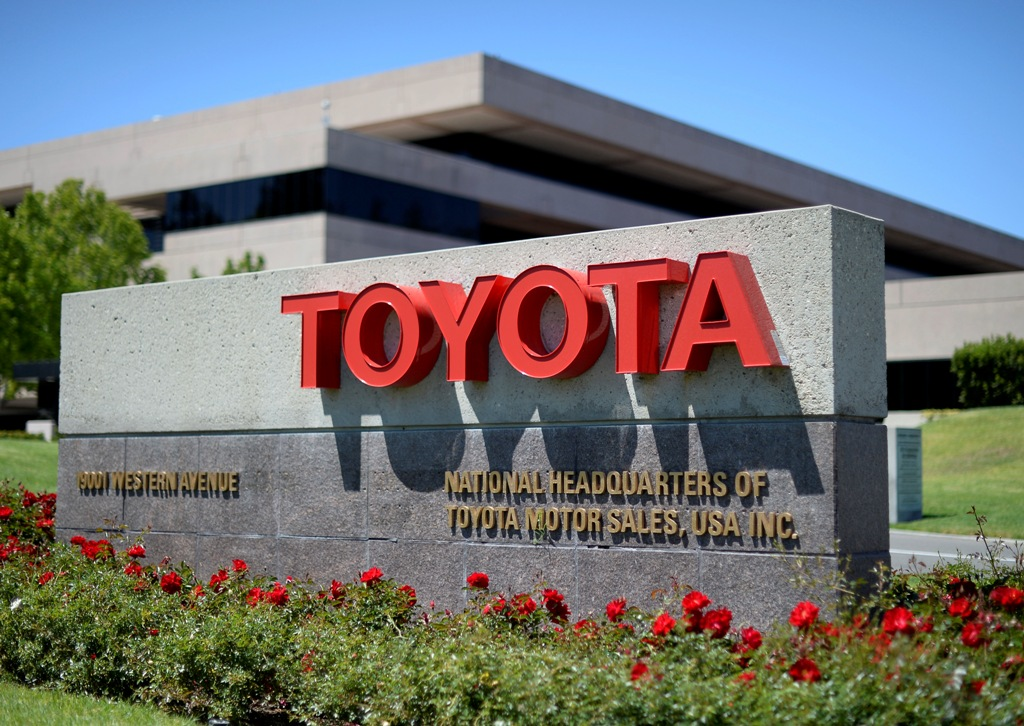 Toyota Motor Logs Forecast-Beating 4.4% Increase in Q1 Operating Profit